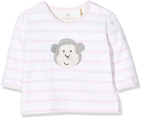 Bellybutton mother nature & me Bellybutton mother nature & me Unisex Baby 1/1 Arm Sweatshirt, Rosa (Ballet Slipper|Rose 2501), 68
