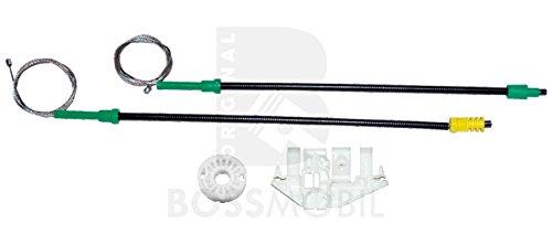 Bossmobil 406 (8B), 406 Break (8E/F), 406 Coupe (8C), Delantero izquierdo o trasero izquierdo, kit de reparación de elevalunas eléctricos
