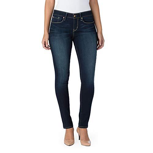 Signature by Levi Strauss & Co Women's Modern Skinny Jeans, Flawless, 12 Medium