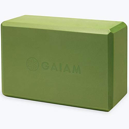 gaiam Blocco Yoga per Esercizi allungamento Green Apple Block 59186