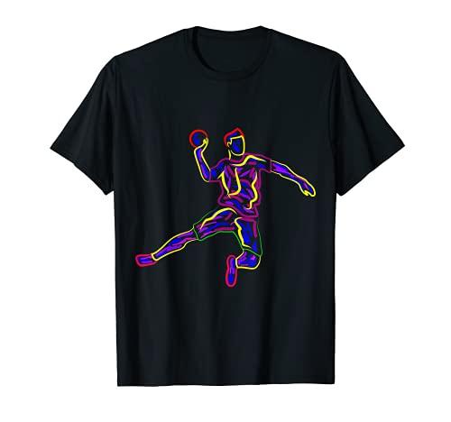 Handball Handballer Handballspieler Jungen Kinder Männer T-Shirt