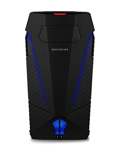 MEDION ERAZER X5340F Gaming Desktop PC (Intel Core i7-4790K, 32GB HyperX RAM, 480GB SSD, 4TB HDD, NVIDIA GeForce GTX Titan X 12GB GDDR5, Windows 10 Home)