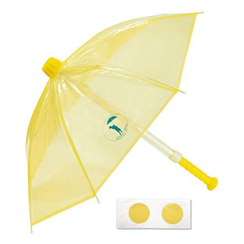 【Water Billy ウォーターガンブレラ シングルパック】水鉄砲傘 強力 飛距離 長い 水遊び 水フェス (イエロー)