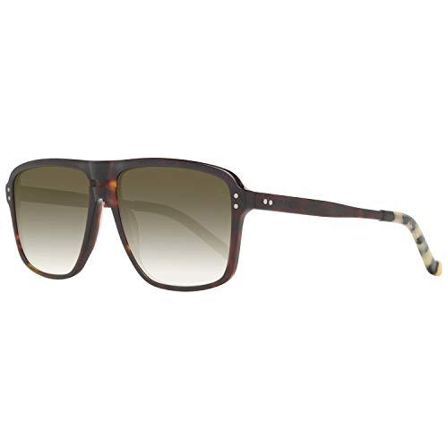 Hackett London HSB86814357 Gafas de sol, Marrón, 57 para Hombre