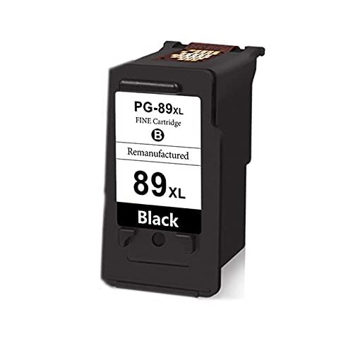 AXAX Tóner Compatible para Canon PG89 XL 99 XL Reemplazo del Cartucho de tóner para la Impresora Canon E560, Accesorios para la Impresora Escolar Fácil de Instalar la Sal Black