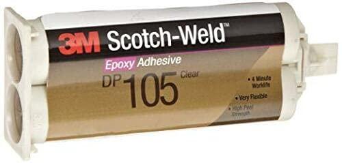 1 Direct stock discount Pc 40% OFF Cheap Sale of DP110 Flexible Epoxy-50ml Set Cartridge 10-Min Tempant