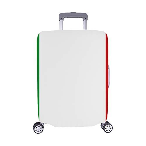 Custodia per valigetta trolley da viaggio in spandex con logo icona bandiera Italia 28.5 x 20.5 pollici