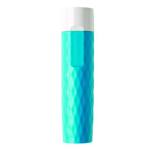 LOOOQS Backup-Batterie Geometrische 2200mAh blau
