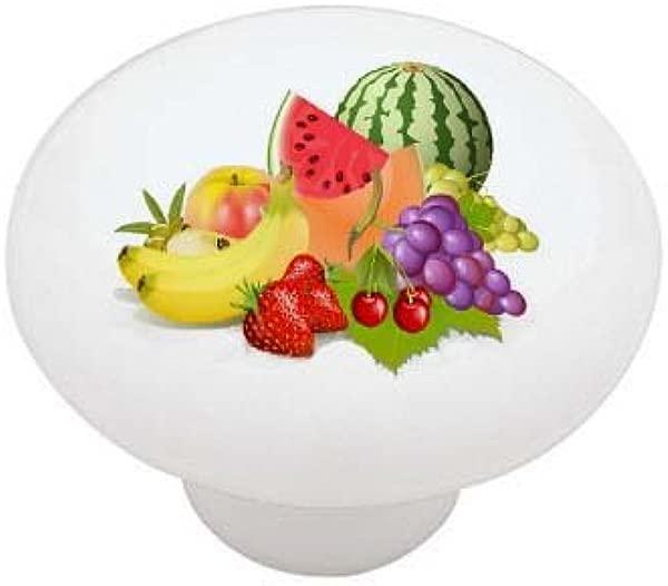 Fruit Bunch Ceramic Drawer Knob
