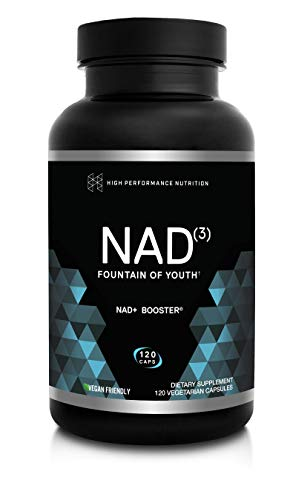 HPN Supplements NAD3 NAD+ Booster | Value Size 2 Month Supply | Clinically Proven & Independently...