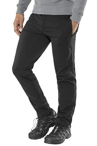 SHIMANO Transit Softshell Pants Men Black 2017Bicicletta Pantaloni, Nero (200)
