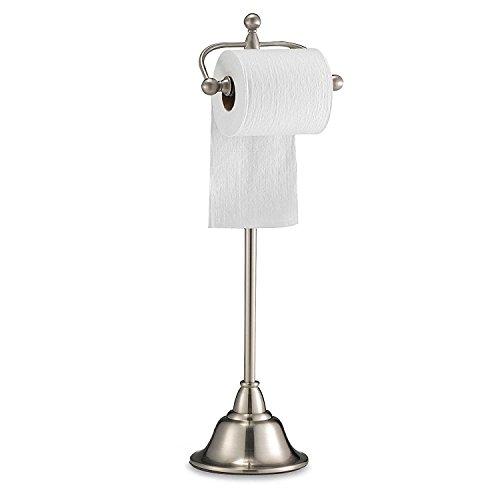 Top 10 best selling list for deluxe pedestal satin nickel toilet paper holder