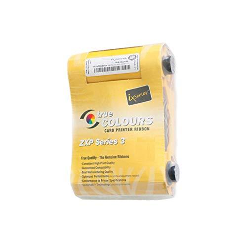 800033-840 Cinta de Color YMCKO para Zebra ZXP Serie 3 Impresora de Tarjetas ZXP3 200 Impresiones Cinta Genuina 800033-840