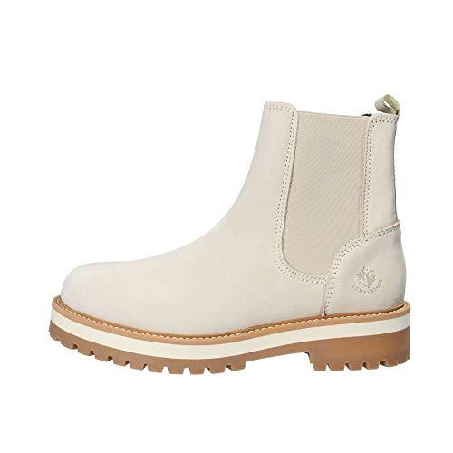lumberjack Damen Kristy Chelsea Boots, Elfenbein (Cream Ca003), 40 EU
