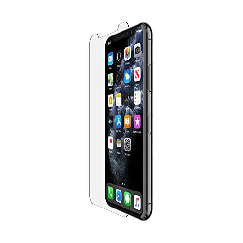 Belkin Protecteur d'écran pour iPhone 11 Pro Max antimicrobien TemperedGlass (protection avancée qui réduit les bactéries sur l'écran jusqu'à 99%)