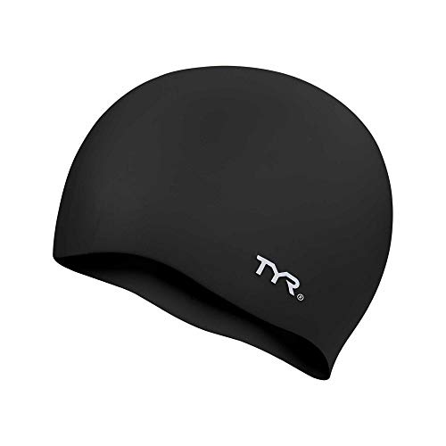 TYR Wrinkle Free Silicone Cap, Black