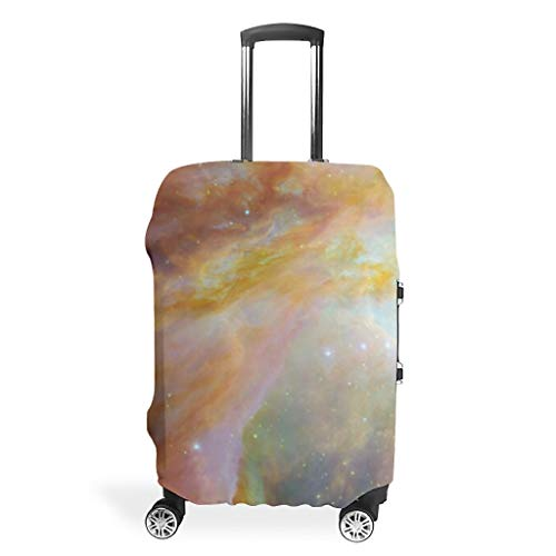 Travel Suitcase Cover – Space Trendy Suitcase Cover 4 Sizes Fit Most Suitcases, White (White) - Bannihorse-scc