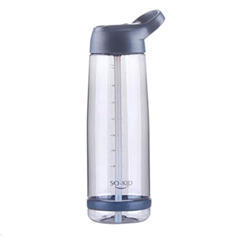 shoppingba Cups Waterflessen Outdoor Strowater Fles Grote Capaciteit Sport Drinkware Wijn Cup Koffie Bekers & Deksels Eenvoudige Moderne 550ml 850ml 1000ml