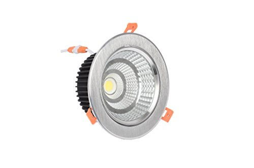 Foco Downlight LED ARO PLATA 7W 4000K