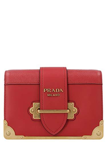 Prada Luxury Fashion Damen 1BH018VWCH2BB0F068Z Rot Schultertasche | Frühling Sommer 20