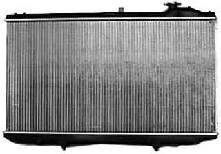 TYC 2222 Lexus 1-Row Plastic Aluminum Replacement Radiator