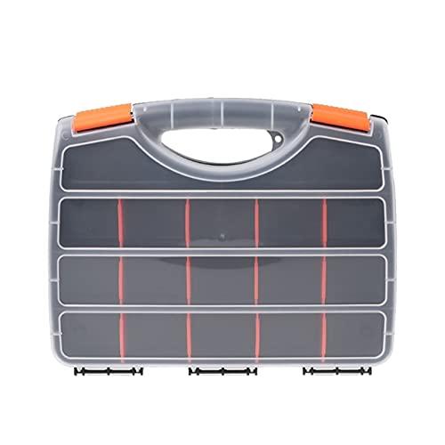 ZHANGAIGUO CCCZY Caja de Almacenamiento de la Herramienta de Mano plástica Caja de Hardware de Las Piezas del Destornillador T8