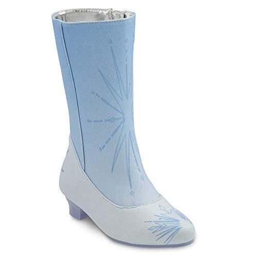 Disney Elsa Costume Boots for Kids – Frozen 2 Size 11/12 YTH Blue
