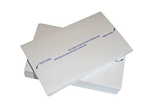 Frankieretiketten Frankiermaschinen Etiketten Doppel 166x44 mm 1000 Neopost FP Pitney Bowes PostBase Frankiermaschinenetiketten Universal