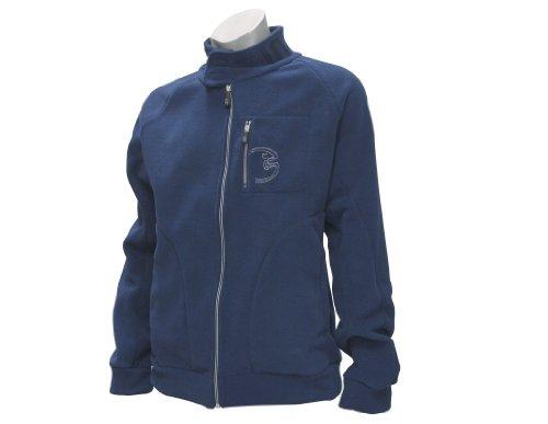 IQ Fleece Jacket Men Bites (Bleu Marine) Small Bleu - Bleu Marine