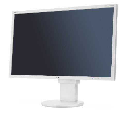 NEC EA223WM 55,8 cm (22 Zoll) Widescreen TFT Monitor (LED, DVI, VGA, 5ms Reaktionszeit) weiß