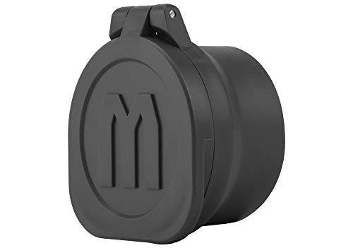 Monstrum Rubberized Flip-Up Rifle Scope Lens Covers (Objective Bell | 37-43 mm/1.5-1.7 inch Diameter)