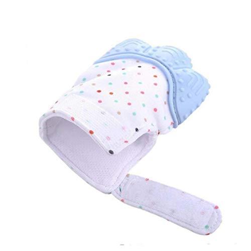 Bébé Teething Moufles Apaisant Soulagement De La Douleur Mitt Stimulating Teether Jouet Prévenir La Protection Scratches