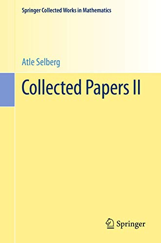 Collected Papers II (Springer Collected Works in Mathematics)