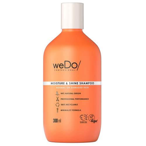 weDo/Professional Moisture & Shine Shampoo für normales bis strapaziertes Haar, 300 ml