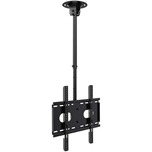 Suptek TV Deckenhalterung für Die Meisten 26 bis 50 Zoll LCD LED Plasma Flachbildschirm VESA 200x200mm-400x400mm Kapazität 45kg MC4602