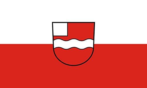 Unbekannt magFlags Tisch-Fahne/Tisch-Flagge: Uhingen 15x25cm inkl. Tisch-Ständer