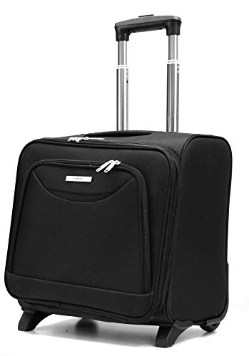 DK Luggage Starlite Super Lightweight Business Travel Laptop Case 2 Wheels