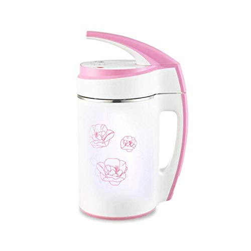 BGSFF Exprimidor Mini máquina de Leche de Soja 0,6-0,8 l Molinillo de Leche de Soja Fabricante de Leche de Soja licuadora de Batidos de Leche de Acero Inoxidable licuadora de Alimentos p