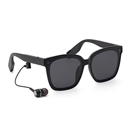 Audio Gafas De Sol Inalámbricas Polarizadas De Alta Definición A Prueba De Agua Inteligentes Negro Brillante