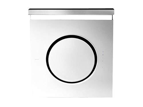 Elica Om 61612978A Kopffreihaube Weißes Glas Dunstabzug 80 cm