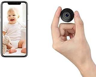 超小型カメラ WiFi OUCAM 1080P高画質 長時間録画 動体検知 電池式 小型防犯監視カメラ 家庭防犯/会議記録 IOS/Android 日本語取扱説明書付き