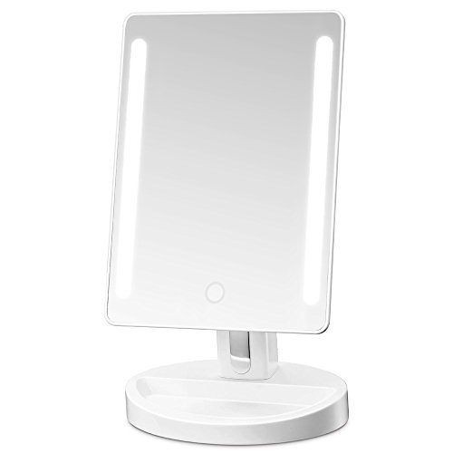 Gotofine LED Lighted Vanity Mirror/Natural Bright Light Makeup Mirror with adjustable 3.5...