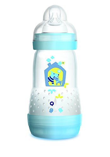 Review Of MAM Easy Start Anti-Colic Bottle 9 oz (1-Count), Baby Essentials, Medium Flow Bottles with...
