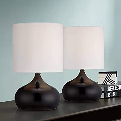 Pair of Droplet Night Stand Lamps