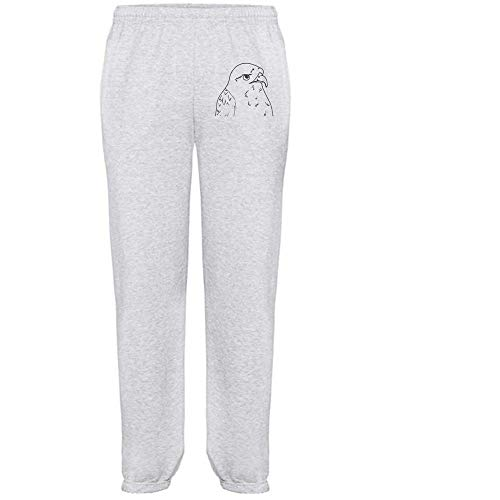 Azeeda Groß 'Bussard Vogel' Grau Joggeurs adultes / Pantalons de survêtement / Fonds (JO00046187)