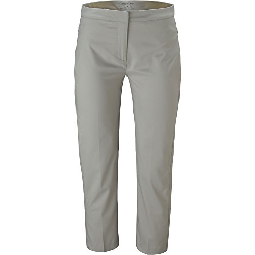 Maggie Lane Women's Flat Front Tech Capri Pants