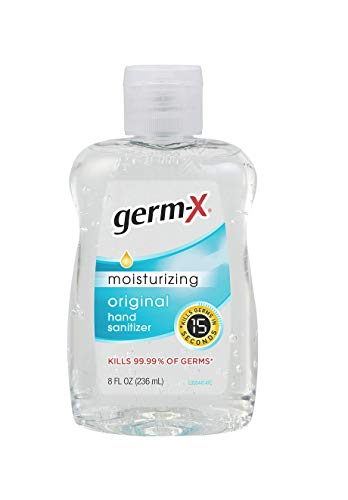 Germ-x Hand Sanitizer, 8 Fl Ounce (Pack Of 12), 96 Fl Ounce - flavor may vary ( Original / fresh citrus )