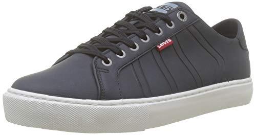 Levi's Woodward Sportswear, Zapatillas para Hombre, Azul (Sneakers 17), 43 EU