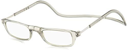 [クリックリーダー] 老眼鏡 CliC Nature SI クリアグレー 日本 +2.00 (日本サイズS-M相当)