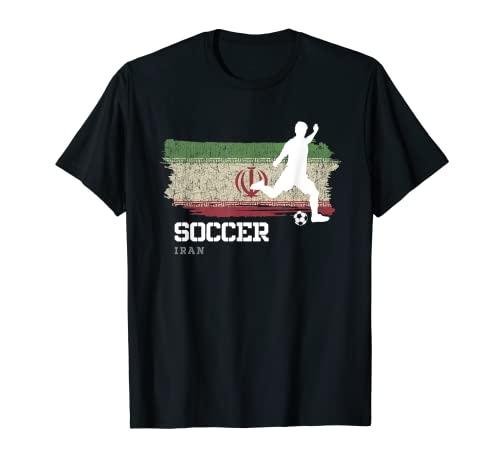 Fútbol Bandera de Irán Equipo de fútbol Jugador Camiseta
